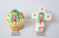 Chapix cookies Virgin Mary