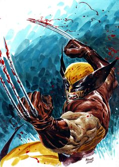 More awesome Wolverine art