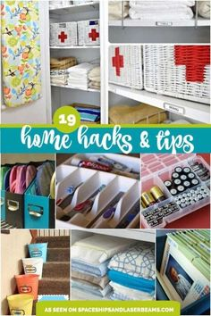 19 amazing home organization tips and hacks home diy & decor Declutter Your Home, Organize Your Life, Organizing Your Home, Organizing Tips, Cleaning Tips, Household Organization, Home Organization Hacks, Bathroom Organization, Diy Storage