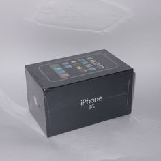 New Sealed Apple iPhone 3G - 8GB - Black (Unlocked) Collectors | eBay
