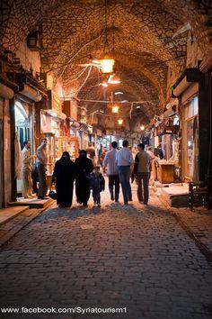 Old Aleppo ...