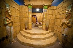 egyptian bathroom | Fifth South - Salt Lake's Most Romantic Getaway - The Anniversary Inn