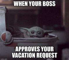 Memes Humor, Funny Memes, Hilarious, Yoda Funny, Yoda Meme, Work Memes, Work Humor, Star Wars Meme, Clean Memes