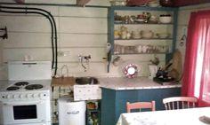 Svenngården: Før og etter: #prosjektGjerde - Kjøkken Bathroom Medicine Cabinet, Home Decor, Homemade Home Decor, Interior Design, Home Interiors, Decoration Home, Home Decoration, Home Improvement