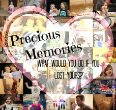 What would you do if you lost your precious memories?