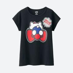 UNIQLO GIRLS SANRIO SHORT SLEEVE GRAPHIC T-SHIRT