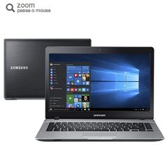 "Notebook Samsung Essentials E22 Intel Pentium Quad Core 4GB 500GB Tela LED 14"" Windows 10 << 139999 em 12 vezes >>"