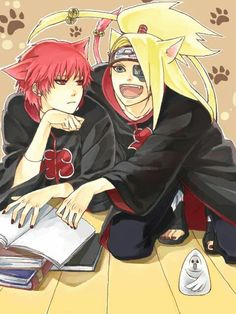 Sasori and Deidara ♡♡♡