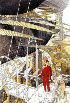 The art of François Schuiten
