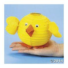 Baby Chick Paper Lantern - Oriental Trading