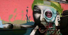 Femme Fierce: Leake Street Tunnel Take Over | via artjunky.net