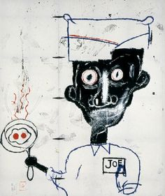 Jean-Michel Basquiat, Eyes and Eggs, 1983
