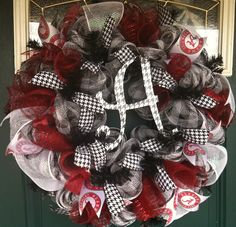 Alabama Deco Mesh Wreath-cntrygrlwreaths on facebook