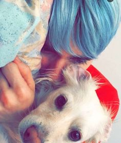 Pictures of Awsten and his dog are like a life necessity now, right up there with like air and water and food and stuff