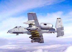 Fully loaded and deadly, USAF Fairchild A-10 Thunderbolt II, 81st FS.