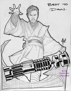 Obi-Wan Kenobi - Adam Hughes