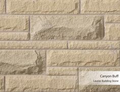Laurier Building Stone - Canyon Buff