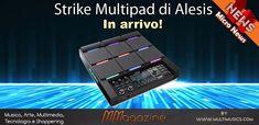 Strike Multipad Alesis, il multipad percussivo definitivo in arrivo! Mixer, Audio, Music Instruments, Tecnologia, Musical Instruments, Blenders, Stand Mixer