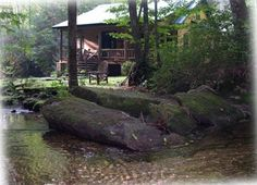 Waterfall Cabin Brevard, Transylvania Co close to SC border  2bd 1ba $325N   known as the 'Land of the Waterfalls'.