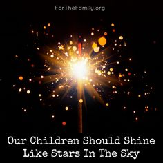 """Teaching our kids to be polite is one thing, teaching them to """"shine like stars"""" so they can change the world? THAT takes a bigger vision.  Want bigger vision? Read this post!!!"""