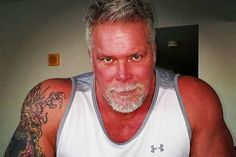 Kevin Nash's knee bears a striking resemblance to Frankenstein's monster — and that's good news for him. The WWE Hall of Famer went under the knife to replace a right knee he says has bothered him … Scott Hall, Kevin Nash, Under The Knife, Brock Lesnar, Frankenstein, Wwe, Fangirl, Oil Rig, Wrestling