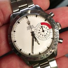 I bet you haven't seen one of these before; a Rolex Yachtmaster Cosmograph!