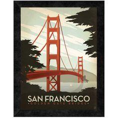 San Francisco, Golden Gate Bridge Wall Art