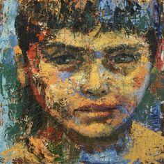 La obra del artista cubano Niels J. Reyes Cadalso (1977) | Pintores Cubanos Contemporáneos