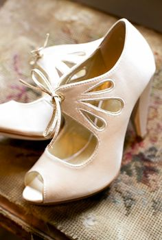 Adorable heels for a bride
