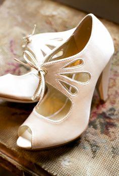 Adorable heels for a bride