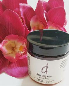 Delia Organics - On The Mend - Night Repair Creme with Mullein & Phytic Acid- $32.50  www.deliaorganics.com