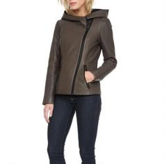 Soia Kyo Leather Jacket w/ Quitling $569.99                      Our Price Now:                                           $650.00                      Comp Value Was:
