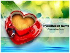 Heart rythm powerpoint template is a free health monitor make a great looking ppt presentation quickly and affordably with our professional coffee and love powerpoint template this coffee and love ppt template toneelgroepblik Gallery