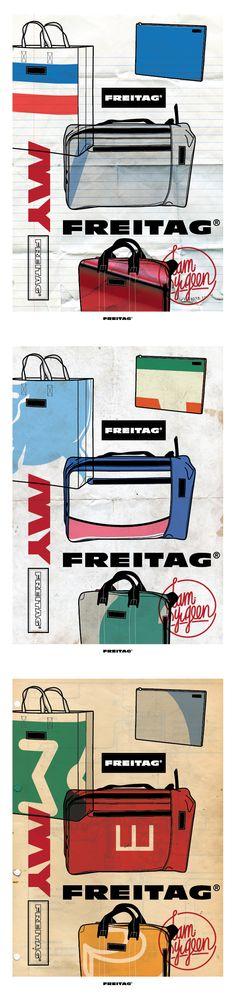 Freitag, good in every way: eco, design & original... #Freitag #newfavourite