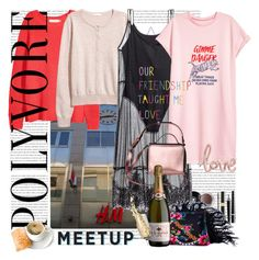 """""""Meetup with Polyvore Friends :)"""" by lacas ❤ liked on Polyvore featuring H&M, Chanel, Baby Bridal, polyvoremeetup and meetupgermany"""