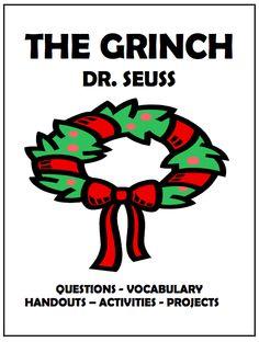 On the Eighth Day of Teacher Christmas. Christmas Activities, Classroom Activities, Classroom Organization, Classroom Ideas, 3rd Grade Reading, Third Grade, Grade 3, Fourth Grade, Grinch Who Stole Christmas