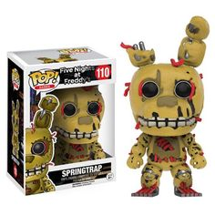 Five Nights at Freddy's Spring Trap Pop! Vinyl Figure - Funko - Five Nights at Freddys - Pop! Vinyl Figures at Entertainment Earth