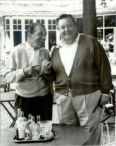 "Jackie Gleason decided to take a break from filming his movie Gigot in Paris to play golf with his old friend Ed Sullivan in 1962. Although Sullivan gets credit for Elvis Presley's national audience debut in the fall of 1956, Presley actually appeared on Gleason's variety program ""Stage Show"" in January 1956."