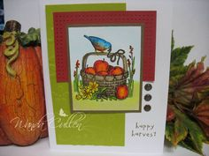 Happy Harvest by cullenwr - Cards and Paper Crafts at Splitcoaststampers   :))