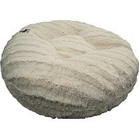 Cheap BESSIE AND BARNIE 60-Inch Bagel Bed for Pets X-Large Natural Beauty sale