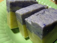HomeMade Soap LAVENDER and EverGreen All Natural Vegan Soap 1 Bar Essential Oils Healthy Soap