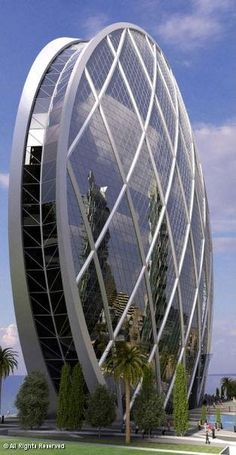The Round Skyscraper - ABU DHABI - UNITED ARAB EMIRATES