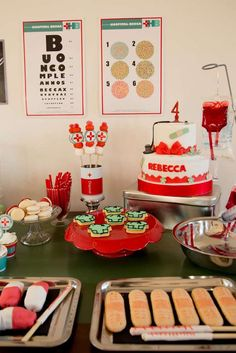 Doctor party Birthday Party Ideas   Photo 3 of 106