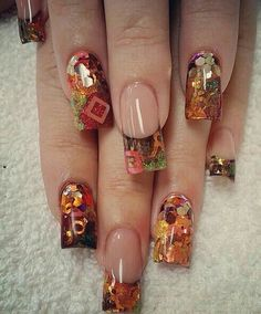 Nail Art Designs & Ideas 2019 / Fall Nails - Autumn has Autumn Acrylic Nail Art Designs & Ideas 2019 / Fall Nails - Autumn has arrive. 90 Best Fall Nail Colors That You Will Fall In Love With! Day Merry Christmas Nail Art Nails may well be one among Simple Acrylic Nails, Fall Acrylic Nails, Autumn Nails, Acrylic Nail Art, Acrylic Nail Designs, Pastel Nails, Neon Nails, Spring Nails, Summer Nails