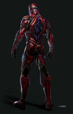 ArtStation - Red Ranger - Power Rangers, Ian Joyner