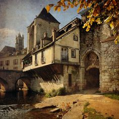 Moret-sur-Loing, France - Pixdaus  I learned to fish on this river bank...