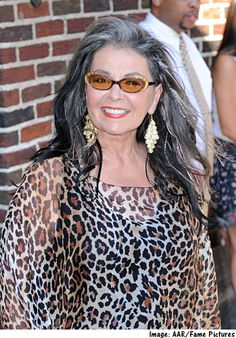 Roseanne Barr New Sitcom, About Her Nut Farm Cat Eye Sunglasses, Round Sunglasses, Roseanne Barr, Running For President, Grey Hair, Presidents, Style Me, Hair Styles, Womens Fashion