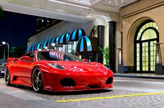 Ferrari at the Beverly Wilshire | by Effspot