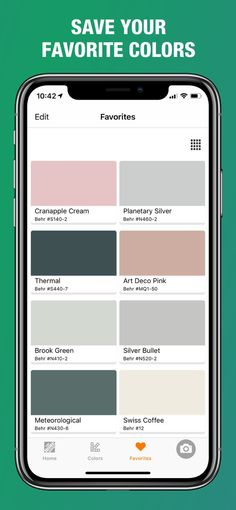 ‎Project Color™ The Home Depot on the App Store Swiss Coffee Behr, Home Depot Paint Colors, Coordinating Paint Colors, Home Depot Store, Coloring Apps, Home Remodeling Diy, Silver Bullet, Vinyl Siding, Color Names