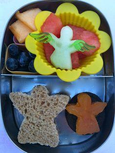 Angel bento  #vegan, #LunchBots